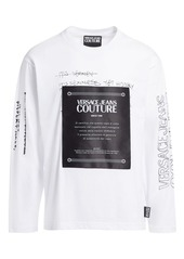 Versace Graffiti Logo Patch Tee