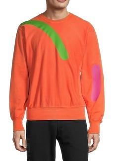 Versace Graphic Crewneck Sweatshirt