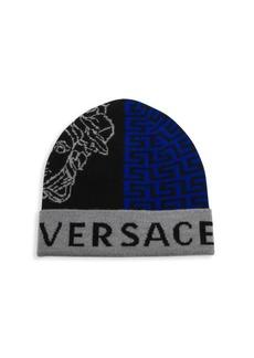 Versace Graphic Logo Beanie
