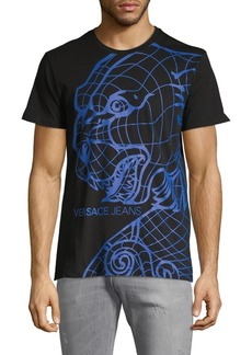 Versace Graphic Logo Cotton Tee