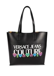Versace Graphic Logo Tote