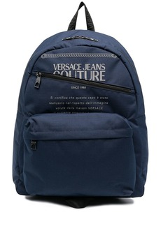 Versace graphic-print zipped backpack