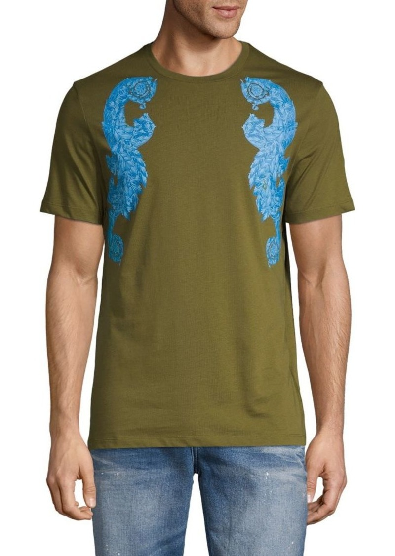 Versace Graphic Short-Sleeve Cotton Tee