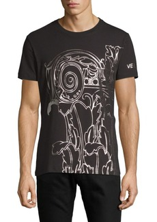 Versace Graphic Stretch Jersey Tee