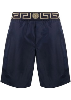 Versace Greca border swim shorts