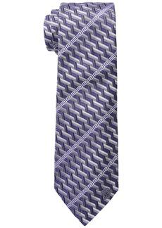 Versace Greca Stripe Tie