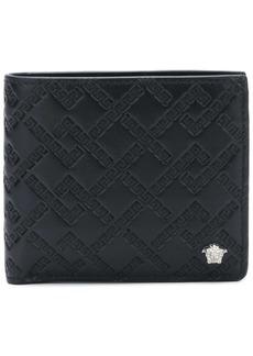 Versace Grecca embossed wallet