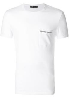 Versace Grecian logo pajama top