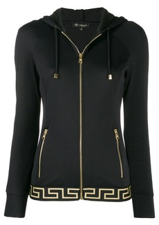 Versace Greek Key hooded jacket