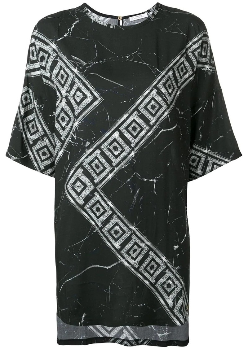 Versace Greek Key print T-shirt