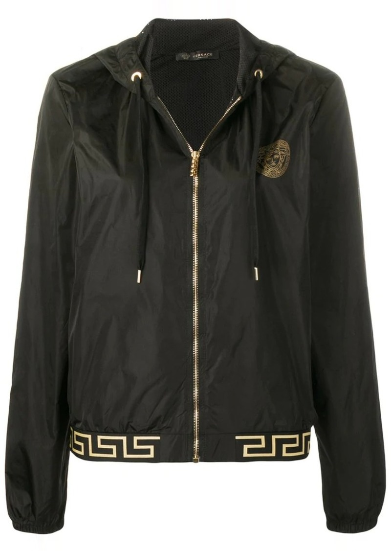 Versace Greek Key trim sports jacket