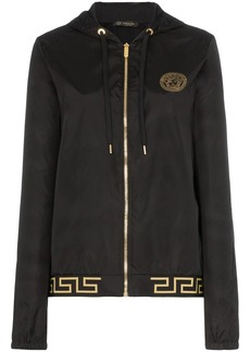 Versace Greek Key-trimmed track jacket