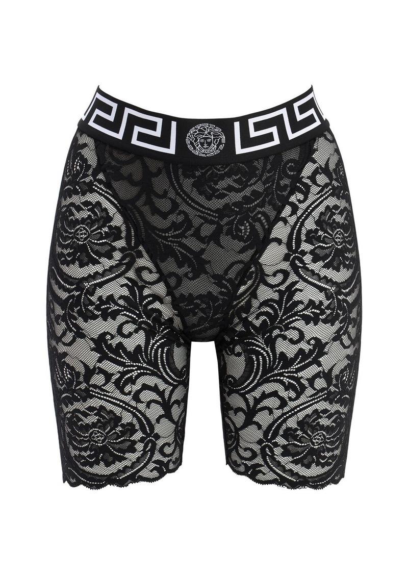Versace Greek Lace Cycling Shorts