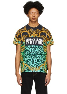 Versace Green Leo Chain T-Shirt