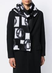 Versace GV logo scarf
