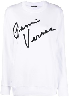 Versace GV Signature crewneck sweatshirt