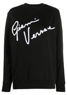 Versace GV Signature crew neck sweatshirt
