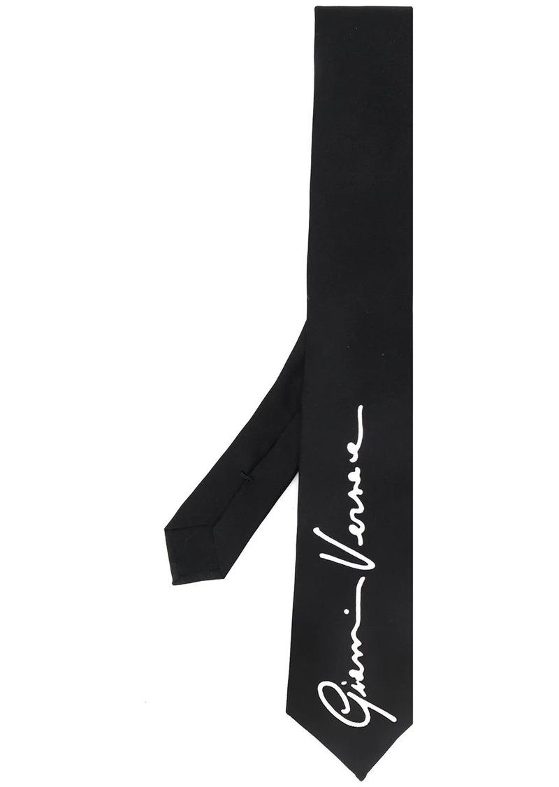 Versace GV signature motif tie