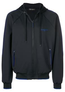 Versace gym zipped hoodie