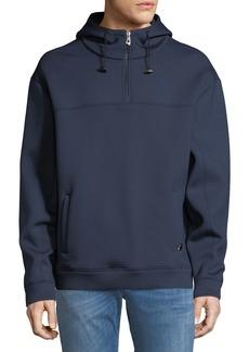 Versace Half-Zip Hooded Sweatshirt