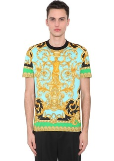 Versace Heritage Print Cotton Jersey T-shirt