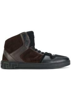 Versace hi top sneakers