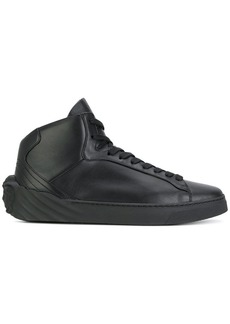 Versace hi top sneakers
