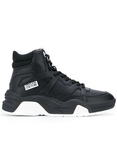 Versace high-top lace sneakers