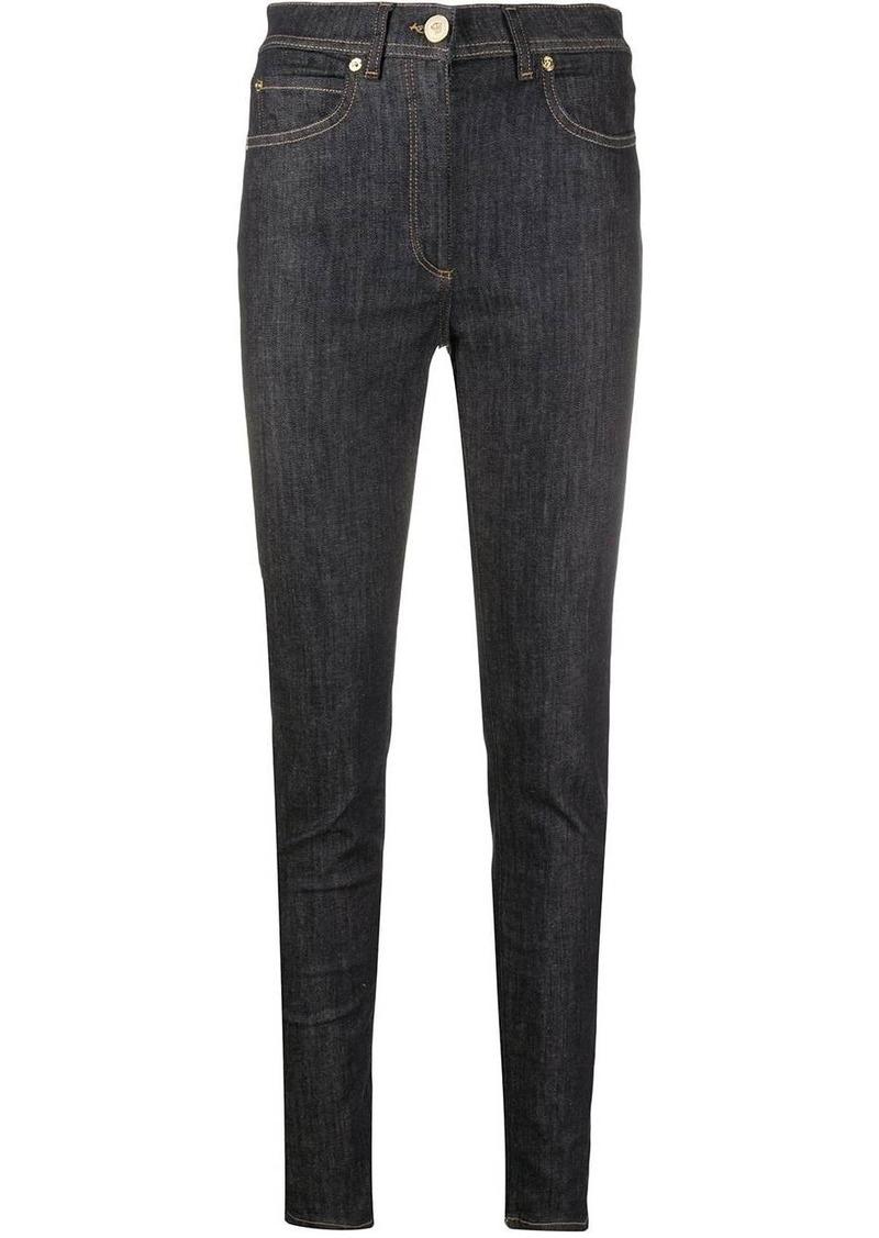 Versace high-waist skinny jeans