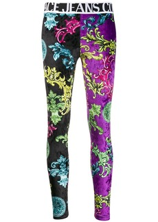Versace high waisted printed leggings