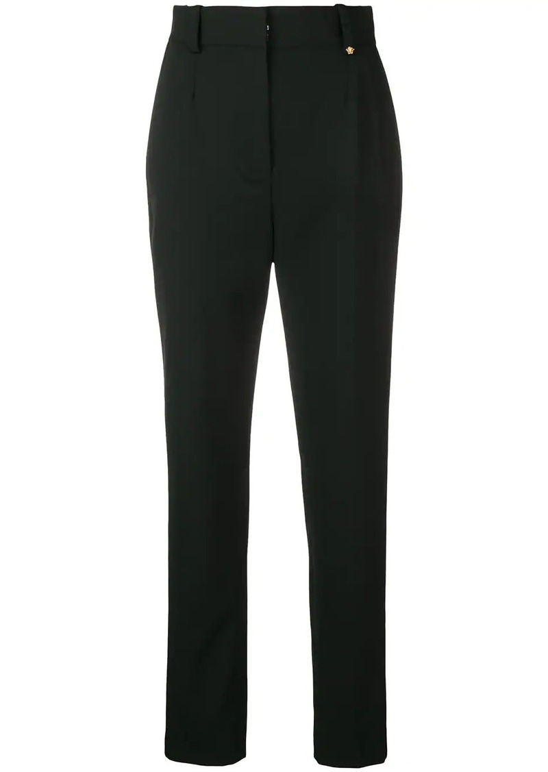 Versace high waisted trousers