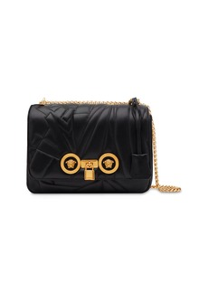 Versace Icon Medium Logo-Quilted Napa Shoulder Bag