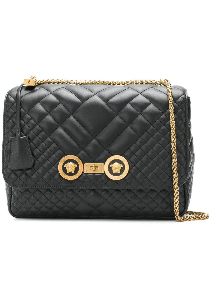 Versace Icon quilted shoulder bag