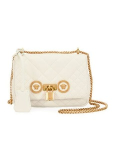 Versace Icon Small Quilted Napa Crossbody Bag