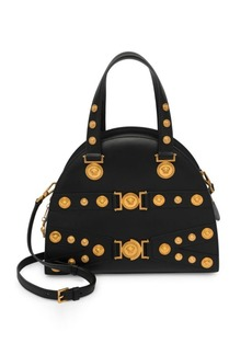 Versace Iconic Leather Handbag