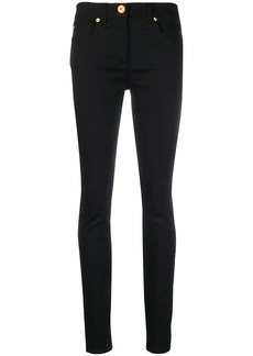 Versace jersey skinny jeans