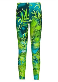 Versace Jungle-Print Leggings