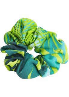 Versace Jungle Print Scrunchie