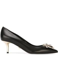 Versace kitten heel pumps