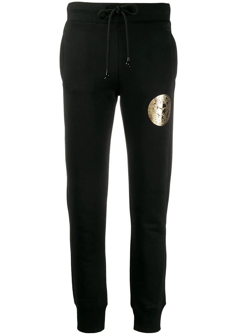 Versace knitted track pants