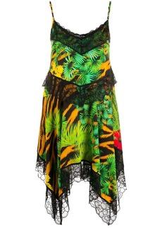 Versace lace handkerchief dress