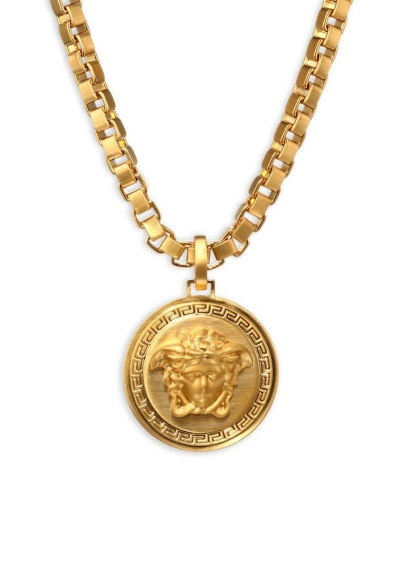 Versace large chain pendant necklace misc accessories large chain pendant necklace versace mozeypictures Gallery