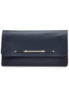 Versace Leather Envelope Clutch