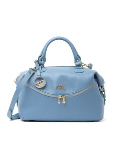 Versace Leather Slouchy Satchel