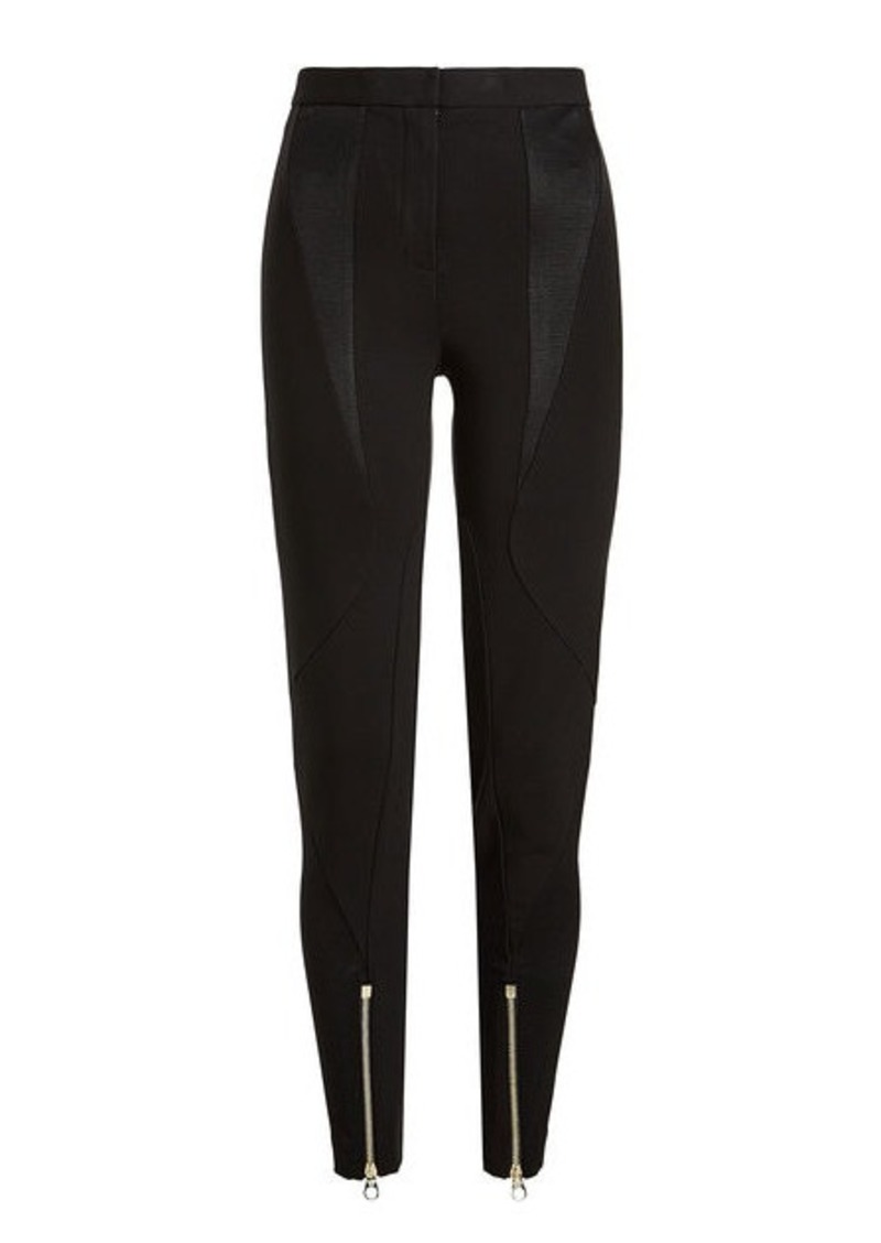 Versace Leggings with Zipped Ankles