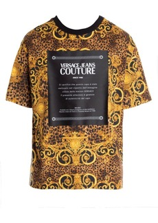 Versace Leo Baroque Print T-Shirt