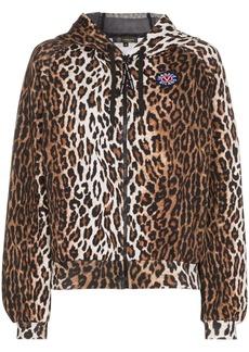Versace leopard print hoodie