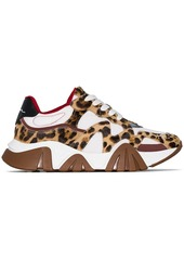 Versace leopard-print sneakers