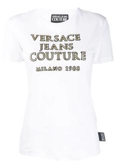 Versace logo appliqué T-shirt