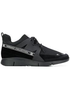 Versace logo band sneakers